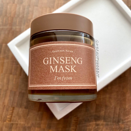 I'm From Ginseng Mask Review