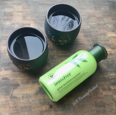 Innisfree Green Tea Balancing Lotion Review
