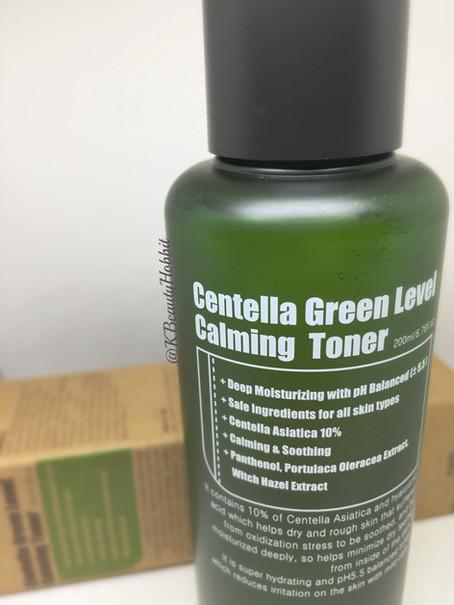 Purito Centella Green Level Calming Toner Review