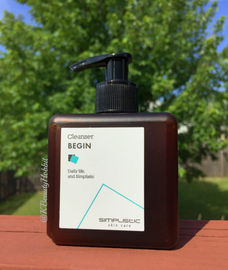 Simplistic Skin Care BEGIN Cleanser Review