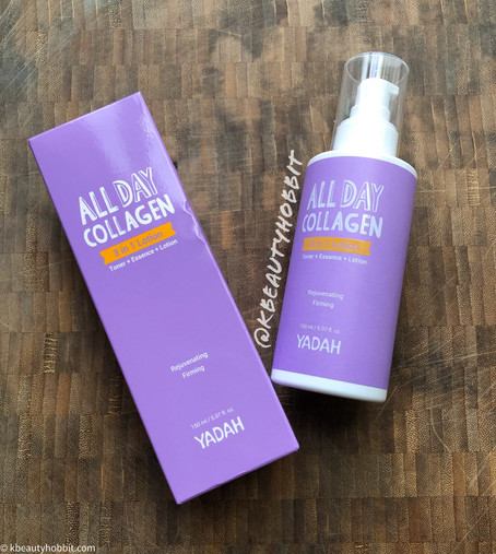 Yadah All Day Collagen 3 in 1 Lotion Review