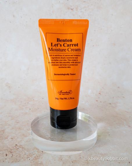 Benton Let's Carrot Moisture Cream Review
