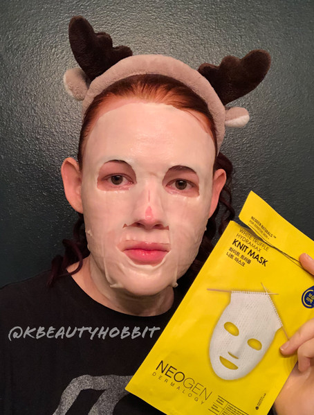 Neogen Dermalogy White Truffle Hydromax Knit Mask Review