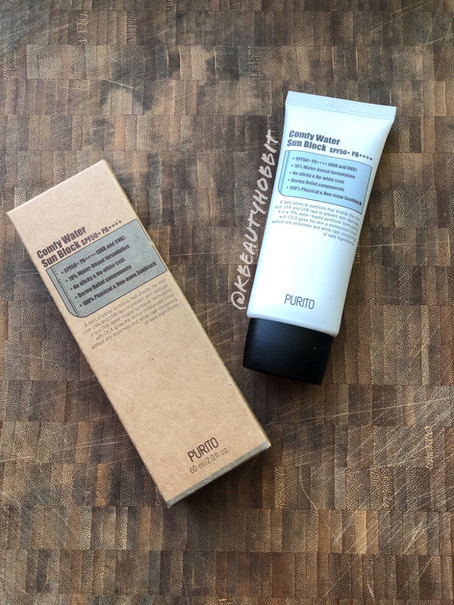 Purito Comfy Water Sun Block SPF50+ PA++++ Review