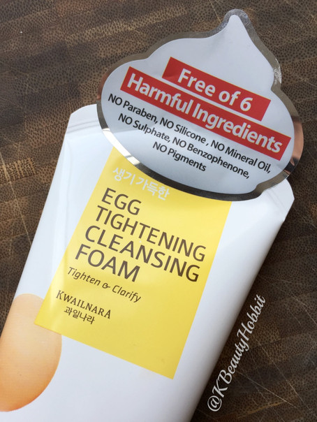 Welcos Egg Tightening Cleansing Foam Review