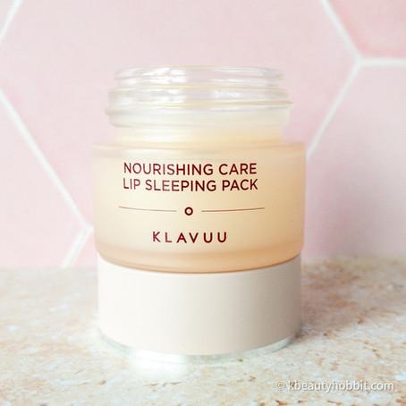 Klavuu Nourishing Lip Sleeping Pack review