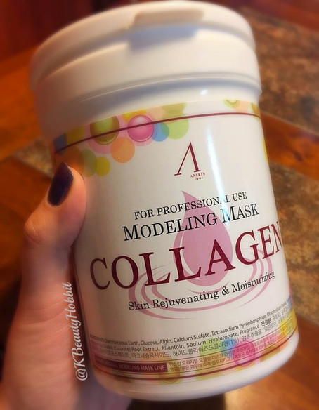 Anskin Modeling Mask Collagen Review