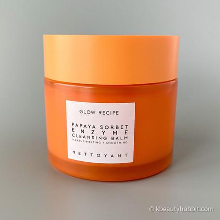 Glow Recipe Papaya Sorbet Enzyme Cleansing Balm Review