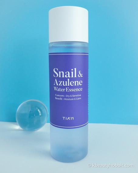 TIA'M Snail & Azulene Water Essence Review