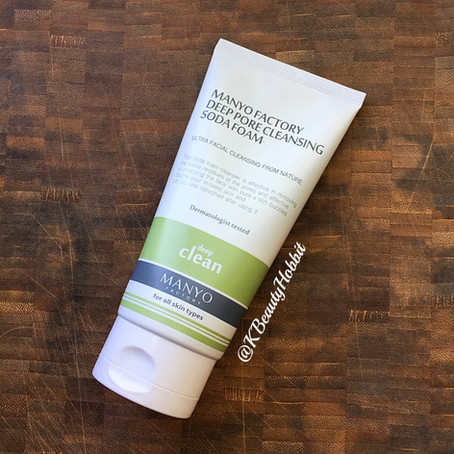 Manyo Factory Deep Pore Cleansing Soda Foam Review