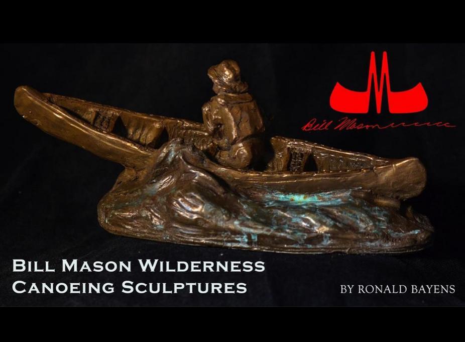 Bill Mason sculpture
