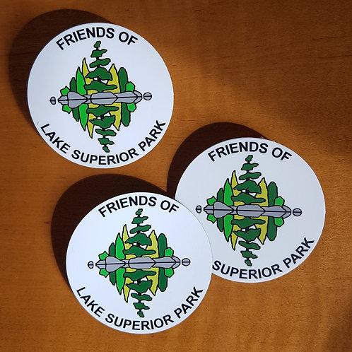 Membership magnet + stickers