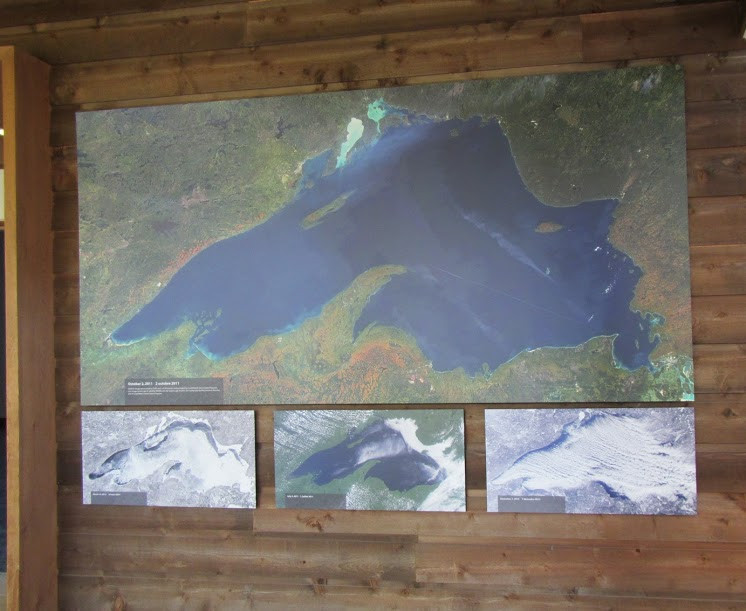 Lake Superior satellite images