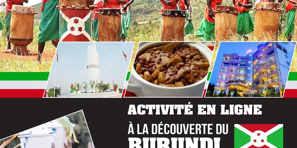 Journée d'Échange Interculturel: A LA DÉCOUVERTE DU BURUNDI
