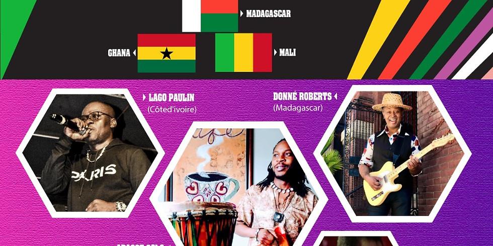 Journée d'Echange Interculturel A LA DÉCOUVERTE D'UN PAN DE LA CULTURE du Togo, Mali, Cote d'ivoire, Ghana et Madagascar
