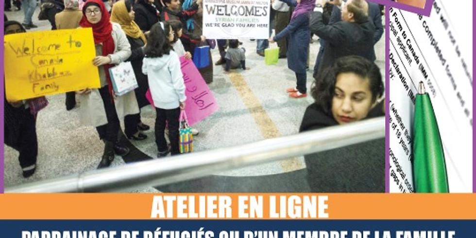PARRAINAGE DE REFUGIÉS OU D'UN MEMBRE DE LA FAMILLE