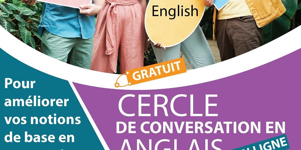 CERCLE DE CONVERSATION EN ANGLAIS