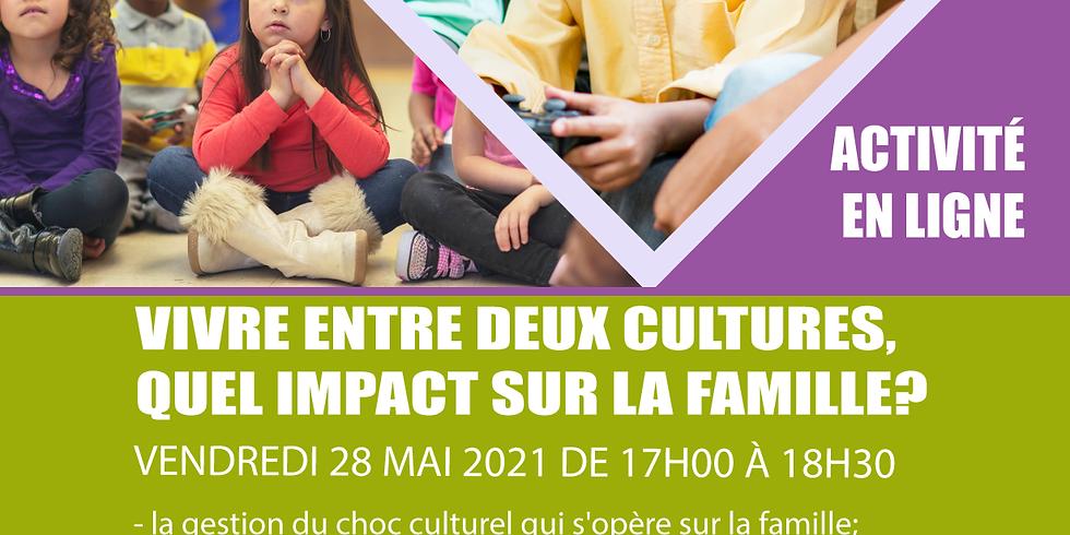 """Reseau Contact Femmes :"""" VIVRE ENTRE DEUX CULTURES, QUEL IMPACT SUR LA FAMILLE?"""""""