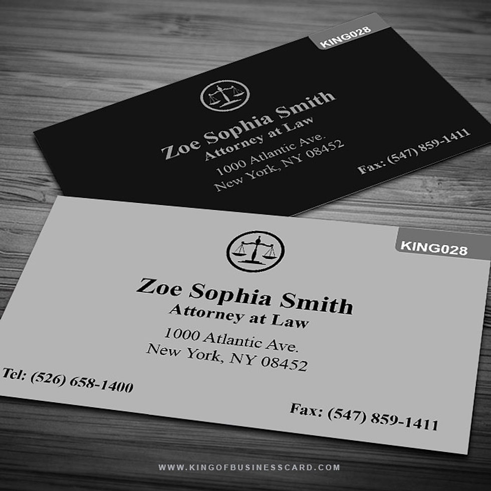 Comfortable Attorney At Law Business Cards Contemporary - Business ...