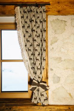 Garnì Fany curtain detail