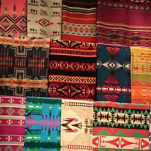 Native Amerian Blanket Weaving