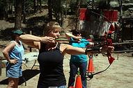 archery, bow