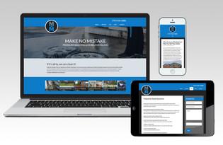 Make No Mistake Pressure Washing Website