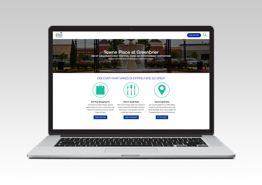 Towne Place at Greenbrier Website