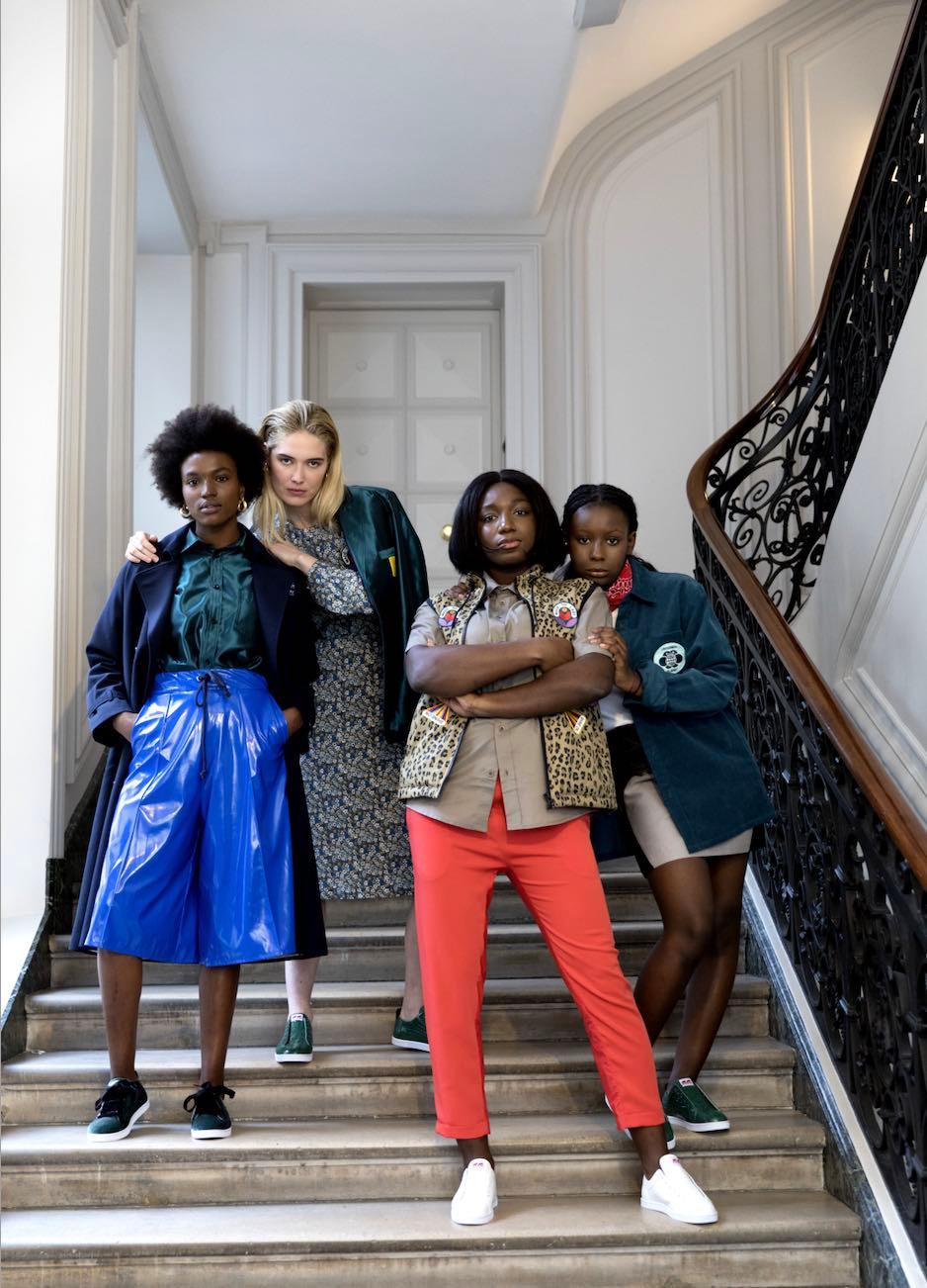 gingeralouest - blog - mode - éco- responsable - marque - collaboration - Sakina M'Sa - APC - image ©Marc Mc court - stylisme - Agnès Boy