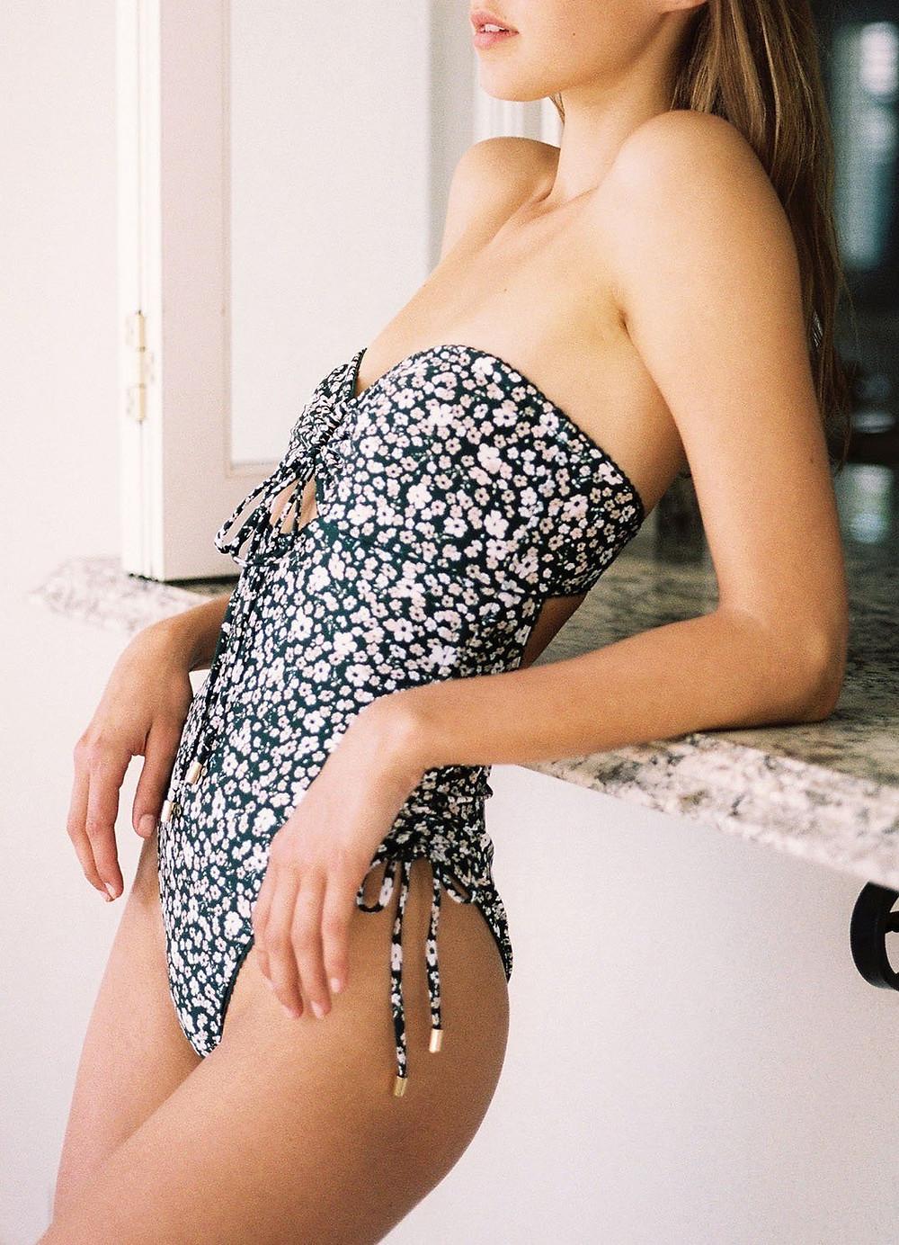 gingeralouest - blog - mode - éco- responsable - maillot de bain - econyl - Peony