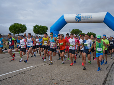 10 km de la Media Maratón de Fuenlabrada
