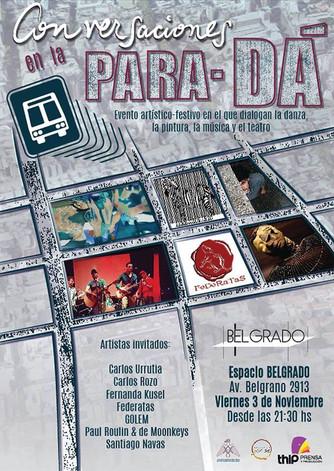 3 Nov // Conversaciones en la ParaDa
