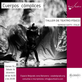 Workshop Cuerpos Cómplices de Serena Gatti (Italia)