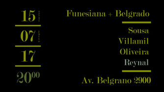 Lecturas Performáticas. Funesiana + Belgrado