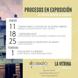 Procesos en Exposición - Resultados e información