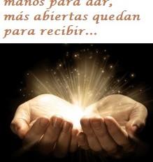 Abre tus manos