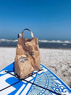 Ontbijten op het strand van Ameland