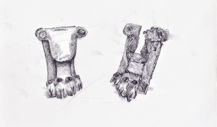 Observational Drawing - British Museum