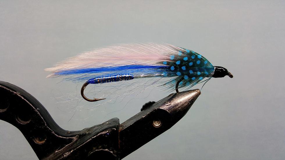 Speckled Blue Tandem Streamer