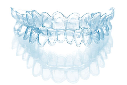 individual tooth tray for whitening isol