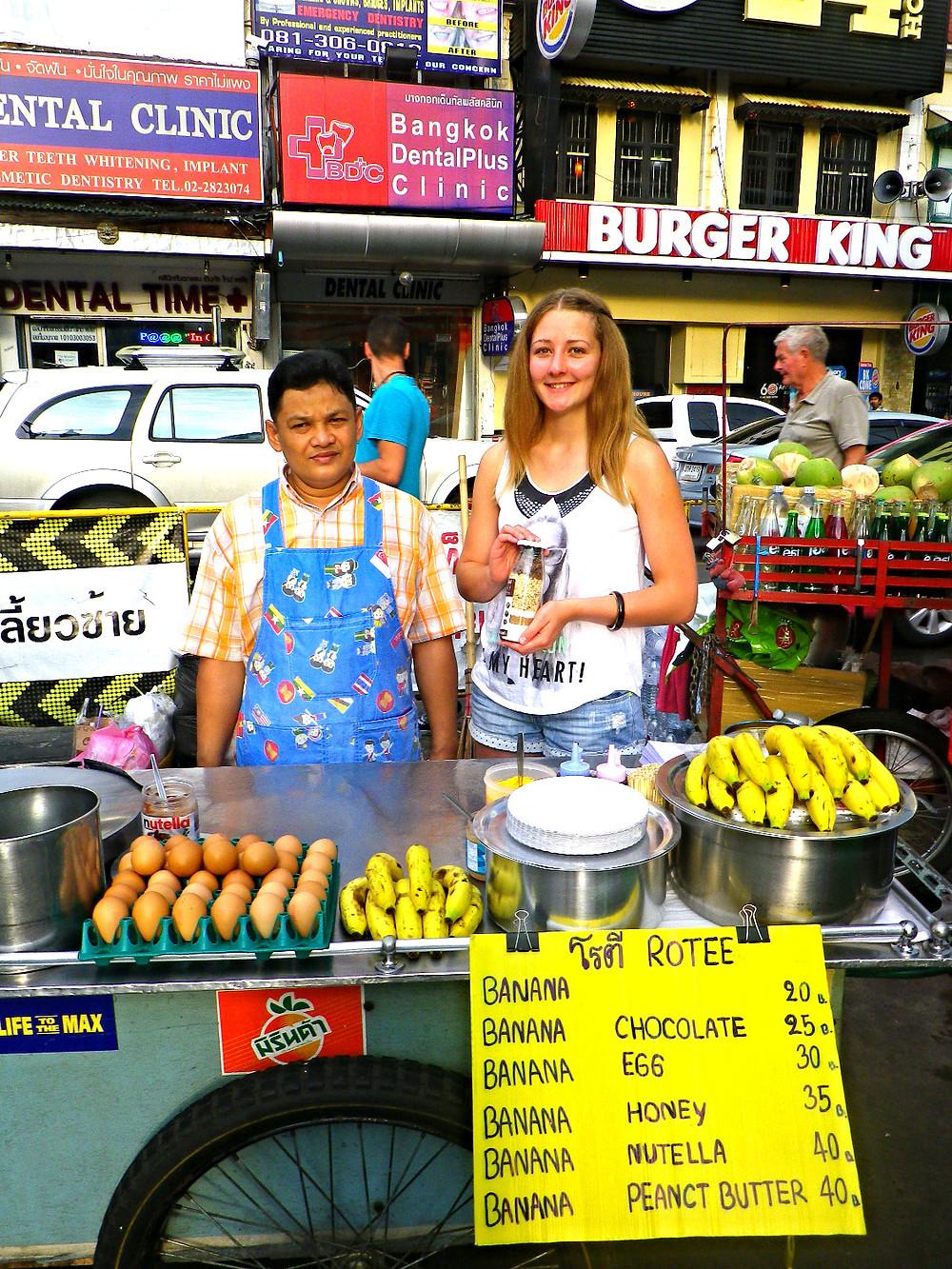 Keksbackmischung in Bangkok