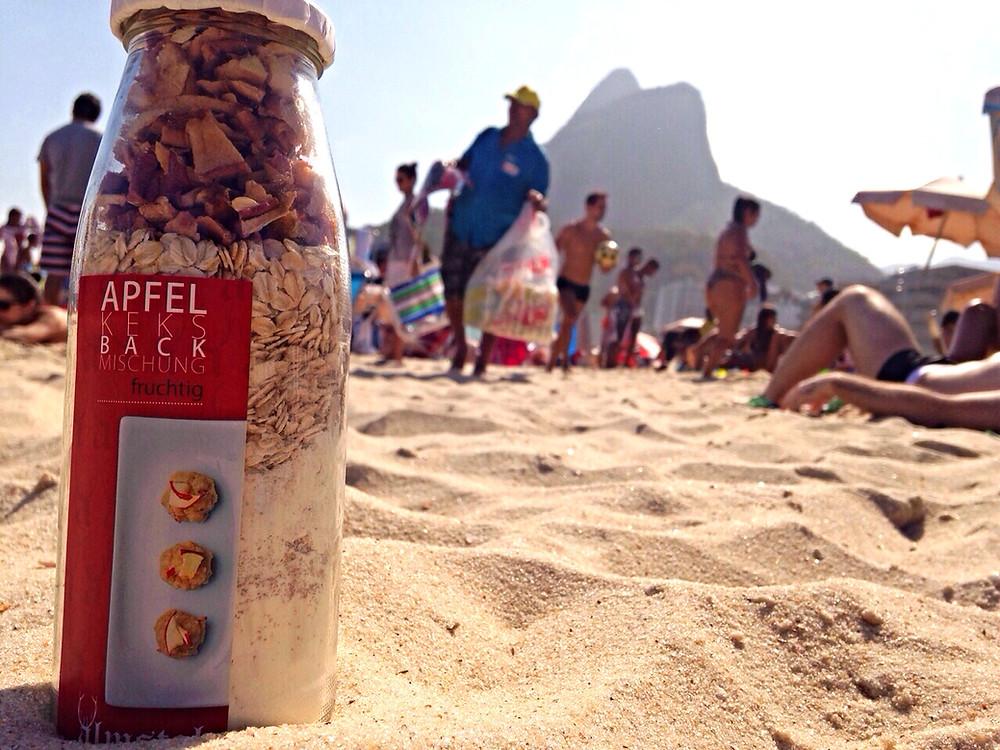 Keksbackmischung in Rio de Janeiro