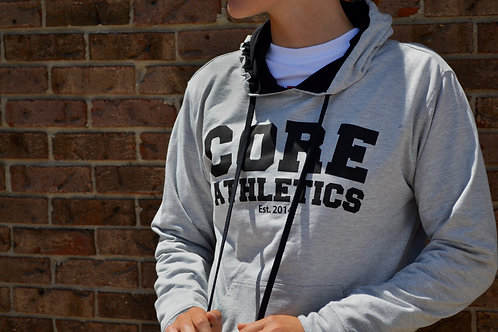 Training Hoodie - Heather Grey
