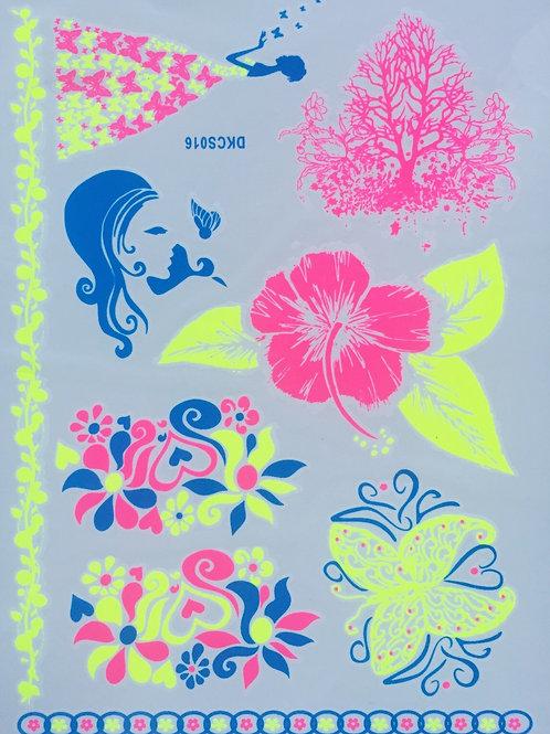Cartela Lady Flower