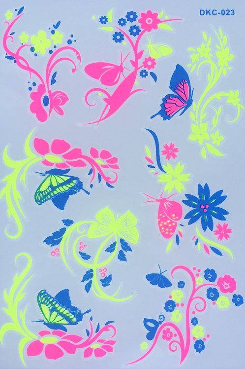 Cartela Secret Butterflies