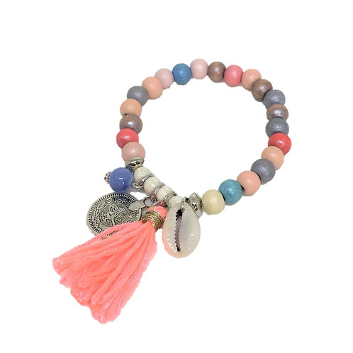 Pulseira Candy  Colors Tassel