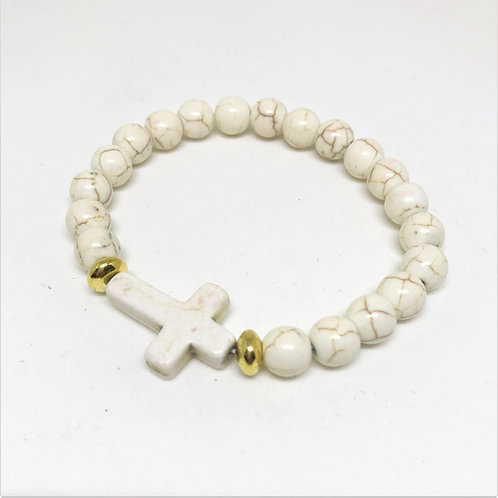 Pulseira Cruz Summer Off White