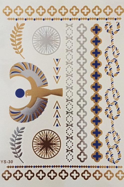 Cartela Blue Eagle