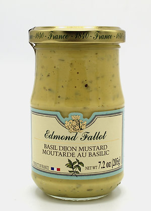 Edmond Fallot Basil Dijon Mustard