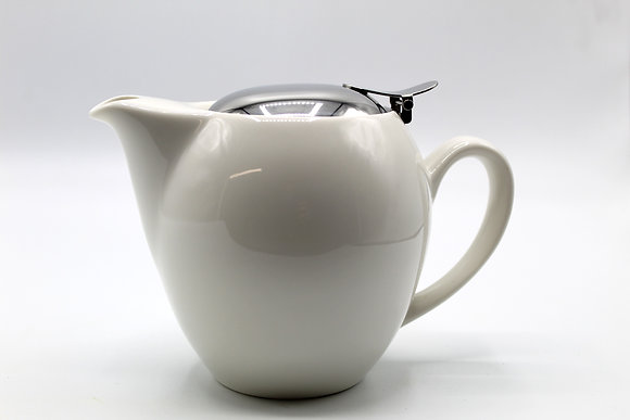 White Teapot (20 oz)